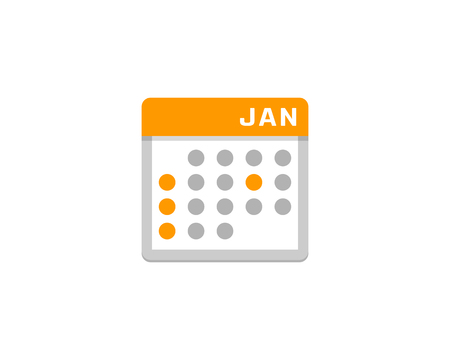 Calendar Icon Design vector illustration.