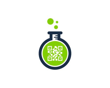 Barcode Lab Logo Icon Design