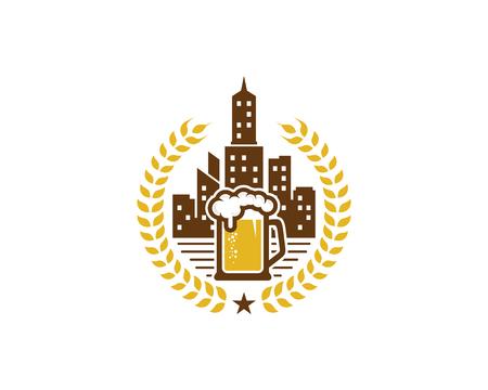 Beer City Icon Design