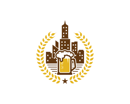 Beer City Icon Design