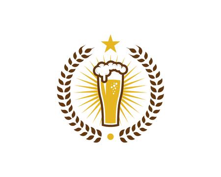 Beer Logo Icon Design.