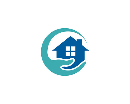 Care Home Logo Icon Design.