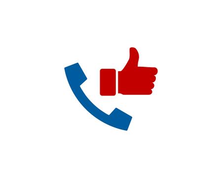 Phone Best Logo Icon Design. Illustration
