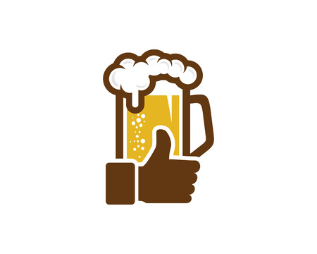 Best Beer Logo Icon Design.