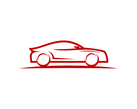 Automotive embleemontwerp pictogram Vector Illustratie