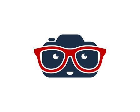 Geek Camera Logo Icon Design