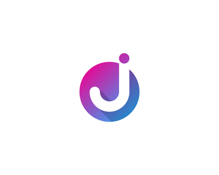 Letter J Icon Logo Design Element