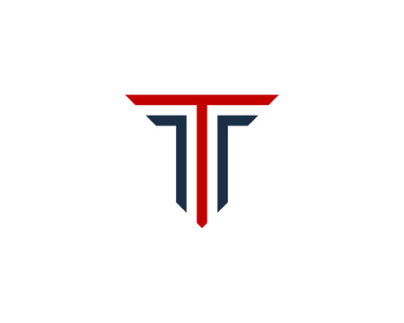 Letter T Icon Logo Design Element