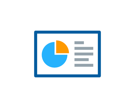 benefit: Report Icon Logo Design Element Illustration