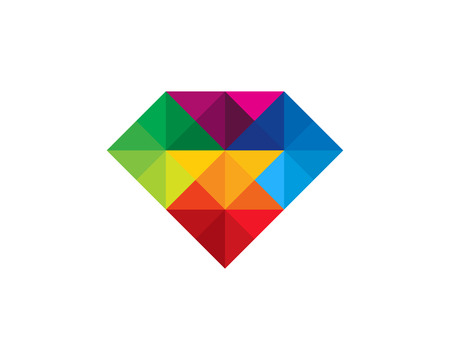 Diamond Icon Logo Design Element 版權商用圖片 - 80612246