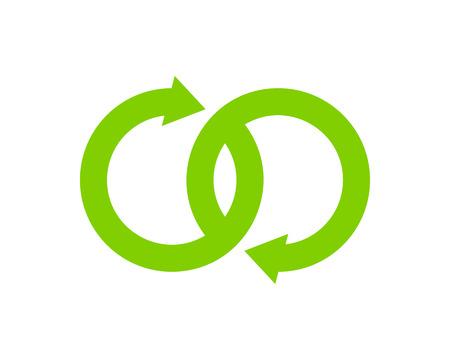 Infinity Icon Logo Design Element Stock Vector - 80611447