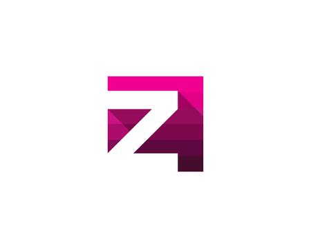 Z アイコン ロゴのデザイン要素