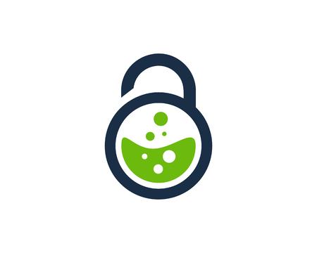 lockout: Guard Icon Logo Design Element Illustration