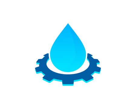 Water Icon   Design Element