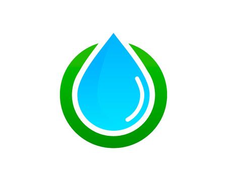 물 아이콘 디자인 요소