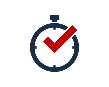 Time Icon Design Element