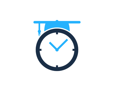 sand watch: Time Icon Logo Design Element