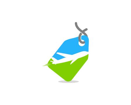 여행 아이콘 로고 디자인 요소