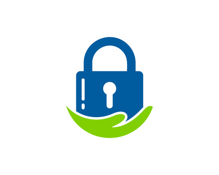 Security Icon Logo Design Element