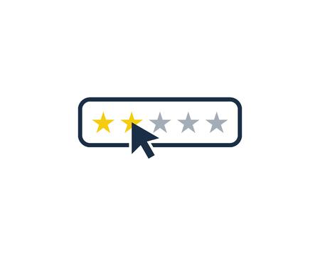Testimonial Icon Logo Design Element 矢量图像