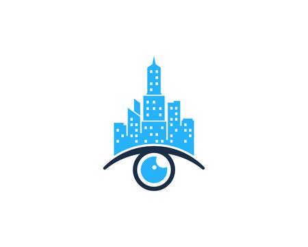 Eye Icon Logo Design Element