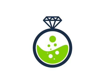 Diamond Icon Logo Design Element Stock fotó - 80612271