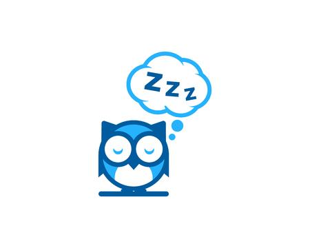 Sleep Icon Logo Design Element Stock Vector - 80806745