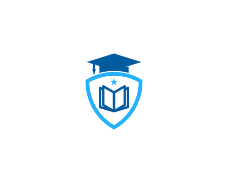 Education Icon Logo Design Element Ilustrace