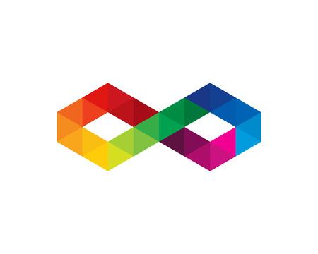 Infinity Icon Logo Design Element