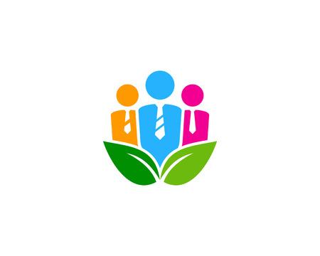 ジョブ アイコン ロゴのデザイン要素