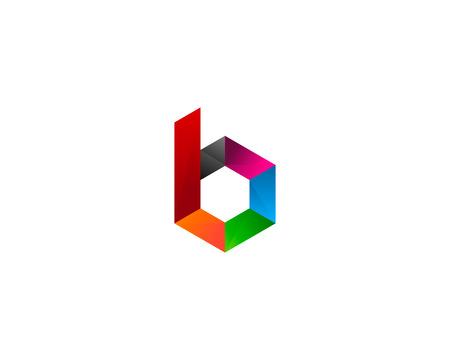Buchstabe B Symbol Logo Design Element Standard-Bild - 80611963