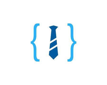 Job Icon Logo Design Element