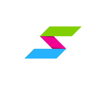 Letter S Icon Logo Design Element