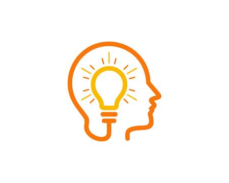 Creative Idea Icon Design Element Vettoriali