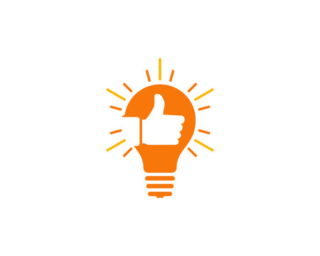 Creative Idea Icon Logo Design Element Stock Vector - 80611514