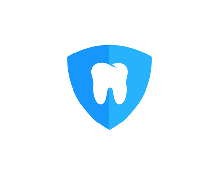 cleanliness: Shield Dental Icon Logo Design Element