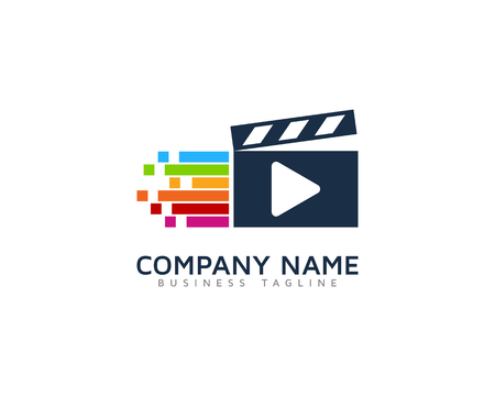 Video Icon Logo Design Element Stock fotó - 80819399