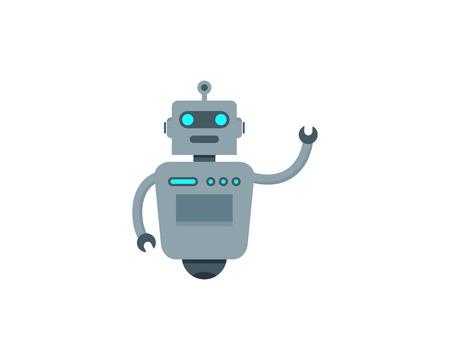 Robot Icon Logo Design
