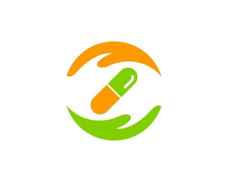 Medicine Icon Logo Design Element Zdjęcie Seryjne - 80767980