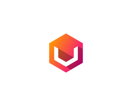 Letter V Icon Logo Design Element