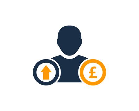 report icon: Stock Market Business Icon  Design Element