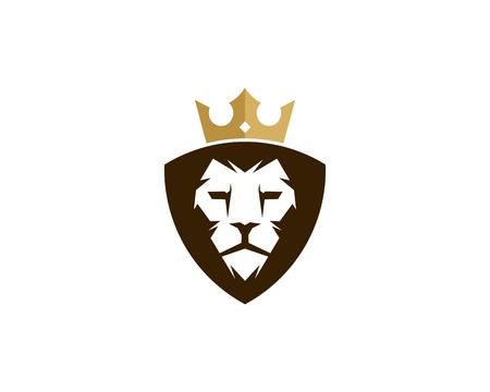 King icon logo design element