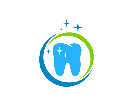 best protection: Dental Icon Logo Design Element