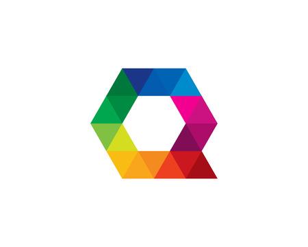 Letter Q Icon Logo Design Element