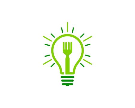 Food Icon Logo Design Element