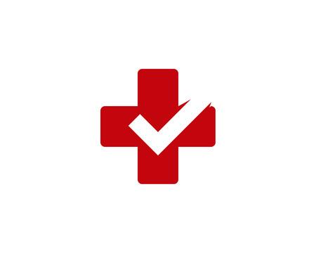 Medical Icon Logo Design Element Stock Vector - 80819423