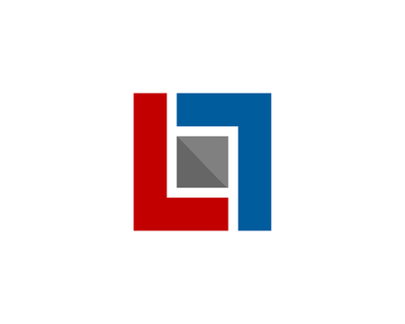 Letter L Icon Logo Design Element