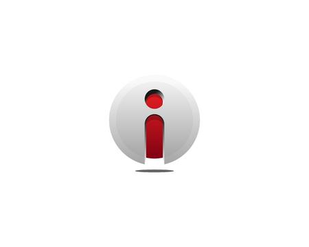 lettre j icône élément de conception de logo
