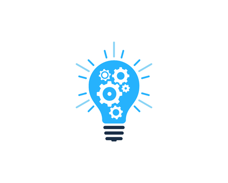 Creative Idea Icon Logo Design Element Illustration