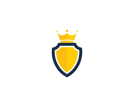 Shield Security Icon Logo Design Element